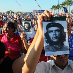 Fifty years gone but Che's legacy lives on