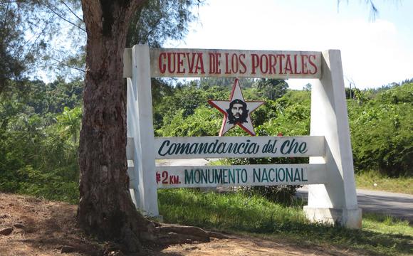Visit Che's secret headquarters at Los Portales cave